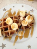 Fellowship of the Vegetable Vegan Waffles