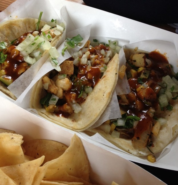 Fellowship of the Vegetable Hugos Tacos Review