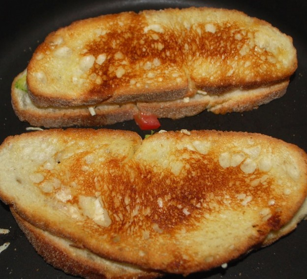 Vegan Grilled Cheese Fellowship of the Vegetable
