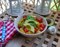 Fellowship of the Vegetable Tomato Cilantro Pasta 3