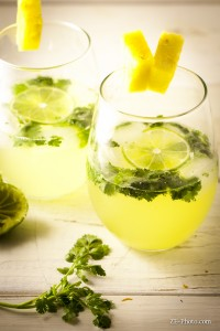 Fellowship of the Vegetable Cilantro Mojito 2
