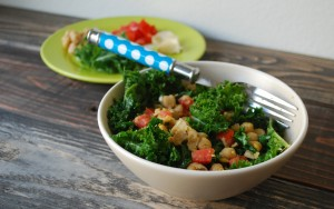 Fellowship of the Vegetable Kale Hash 1