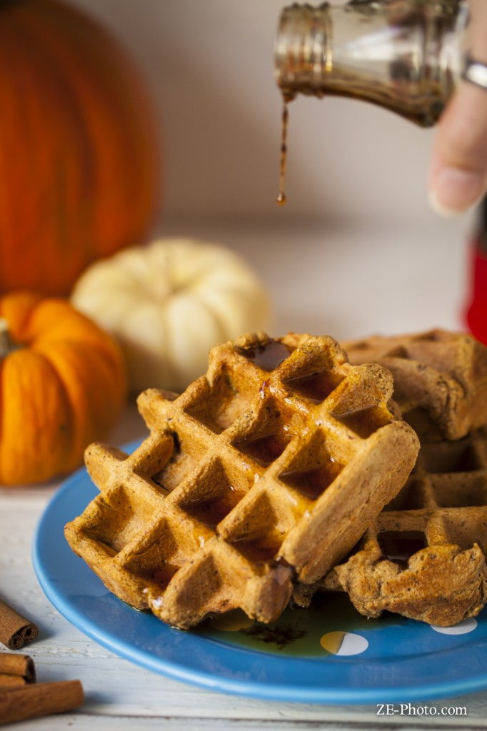 Fellowship of the Vegetable Pumpkin Spice Latte Waffle 2