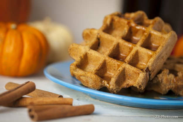 Fellowship of the Vegetable Pumpkin Spice Latte Waffle 3