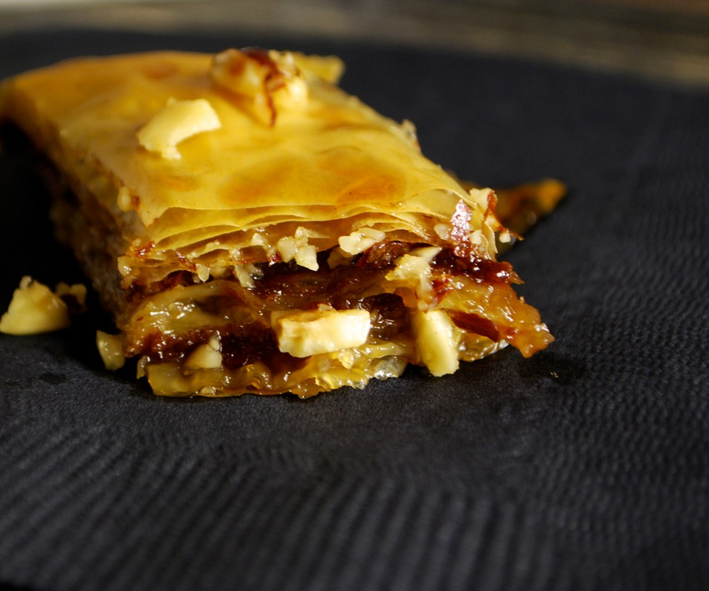 Fellowship of the Vegetable Chocolate Banana Baklava 4