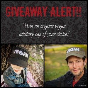 Fellowship of the Vegetable Military Hat Giveaway