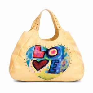 Love Bag in Yellow $95