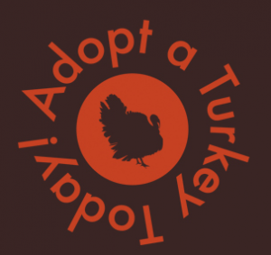 Adopt a turkey for $30