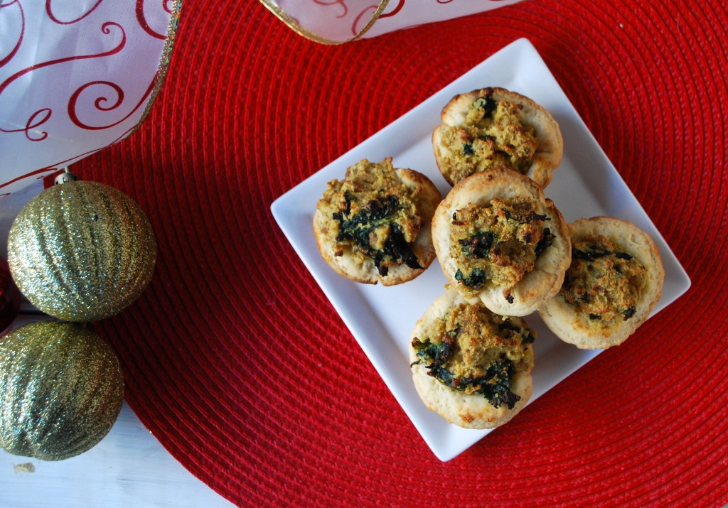 Fellowship of the Vegetable Cheesy Sausage Kale Bites 3