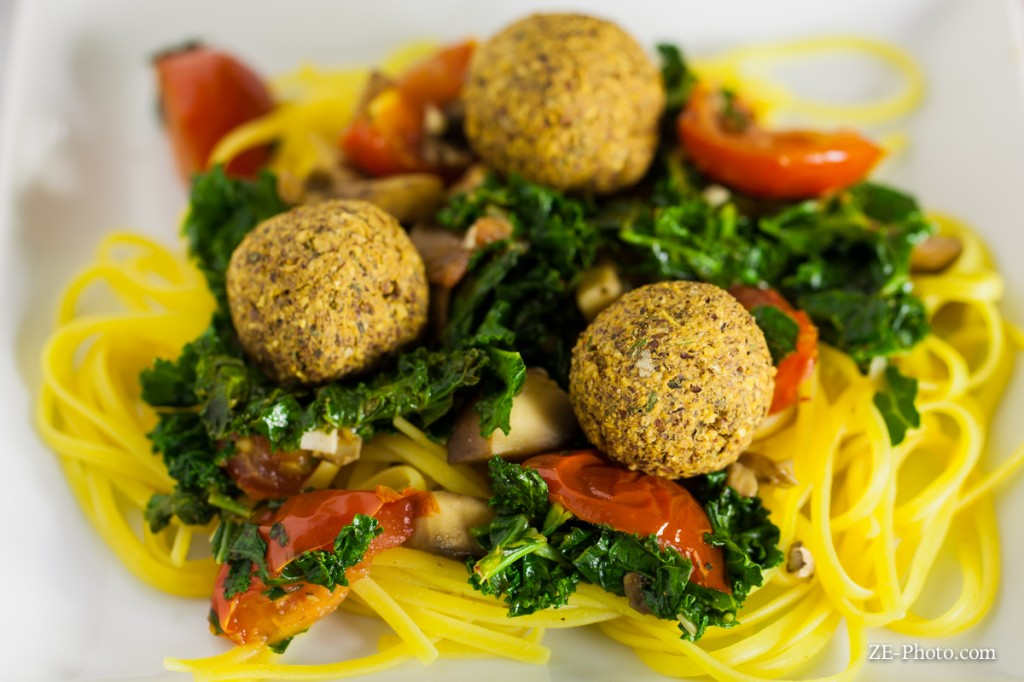 Fellowship of the Vegetable Neatballs and Pasta 4