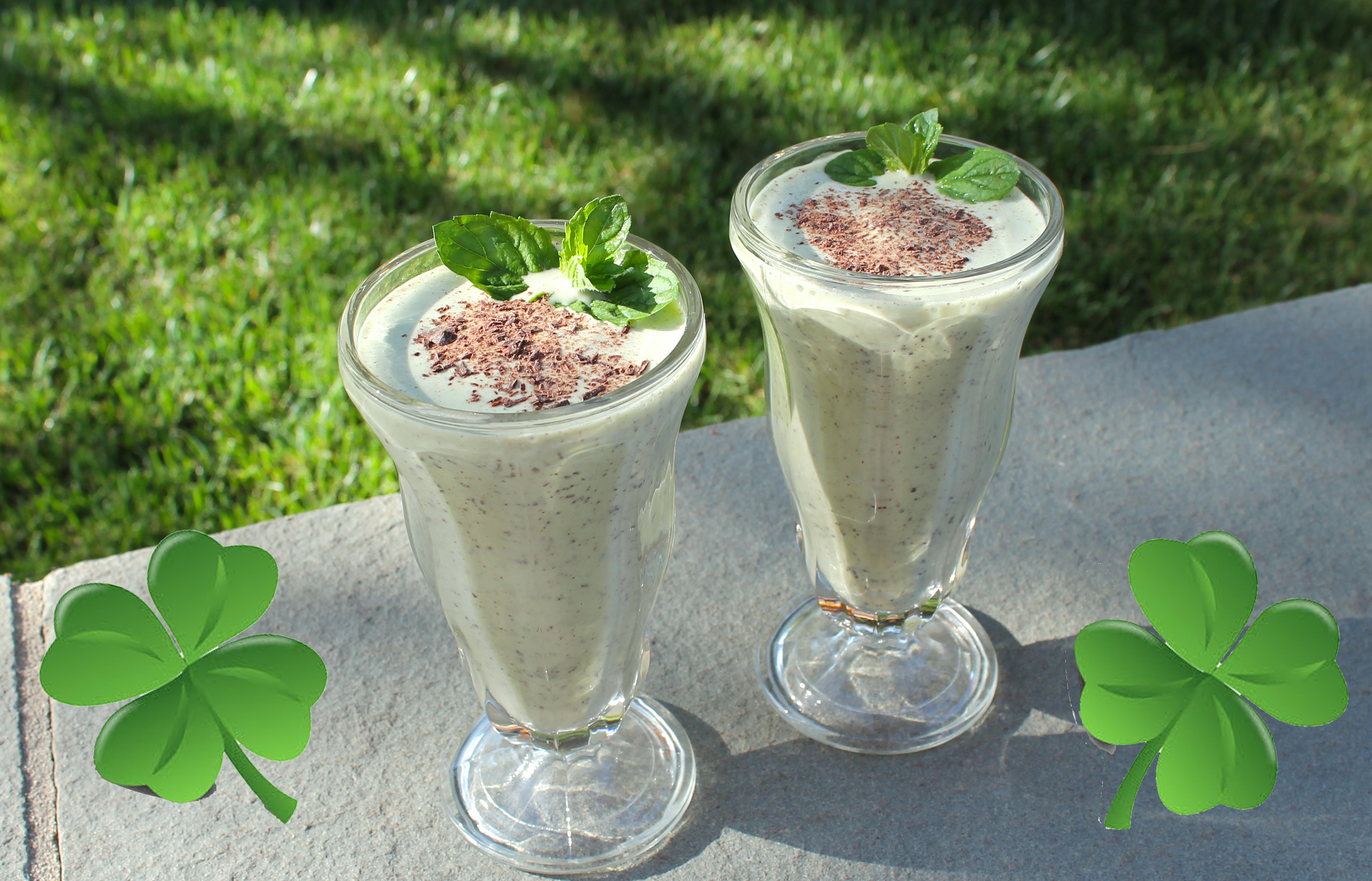 Fellowship of the Vegetable Vegan Shamrock Shake Featured