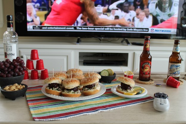 Fellowship of the Vegetable Superbowl Vegan BBQ Sliders 1