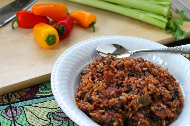 Fellowship of the Vegetable Vegan Jambalaya Featured