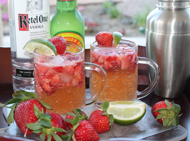 Fellowship of the Vegetable Strawberry Spring Mule Featured